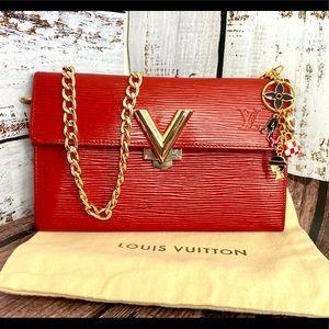 Louis Vuitton Sara Wallet Crossbody Custom